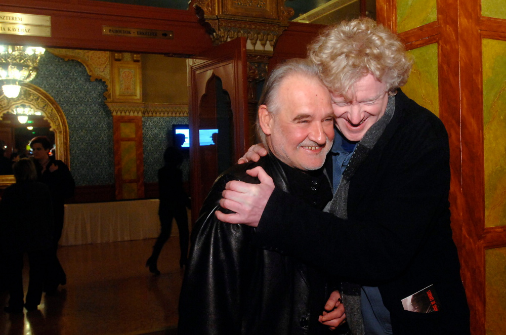 Photo of Bela Tarr & his friend  Müller Péter - Hungary