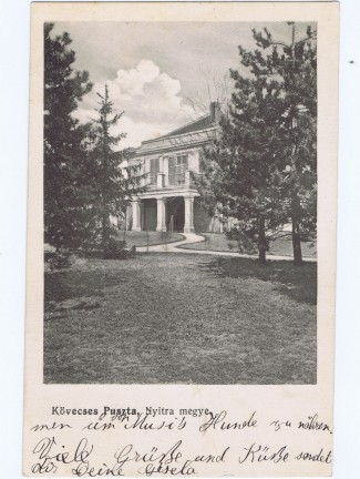 ephrussi_gisela_postcard_to_her_father_viktor_from_kovecses_1912